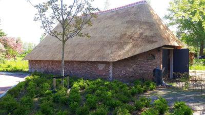 Nieuwe dakbedekking 'Schaapskooi'